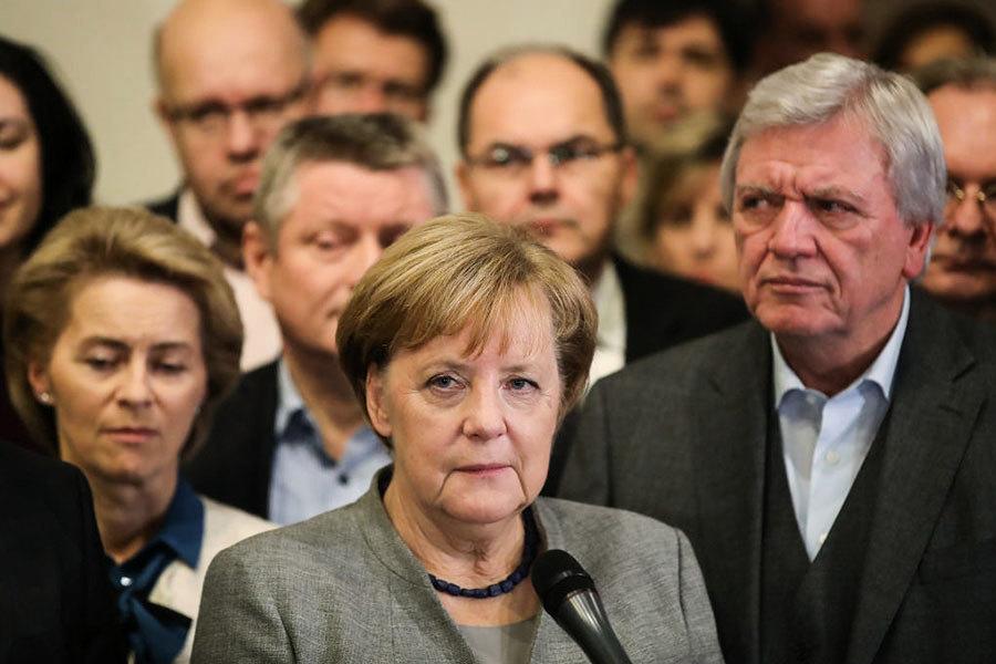 德國新政府流產 默克爾陷危機