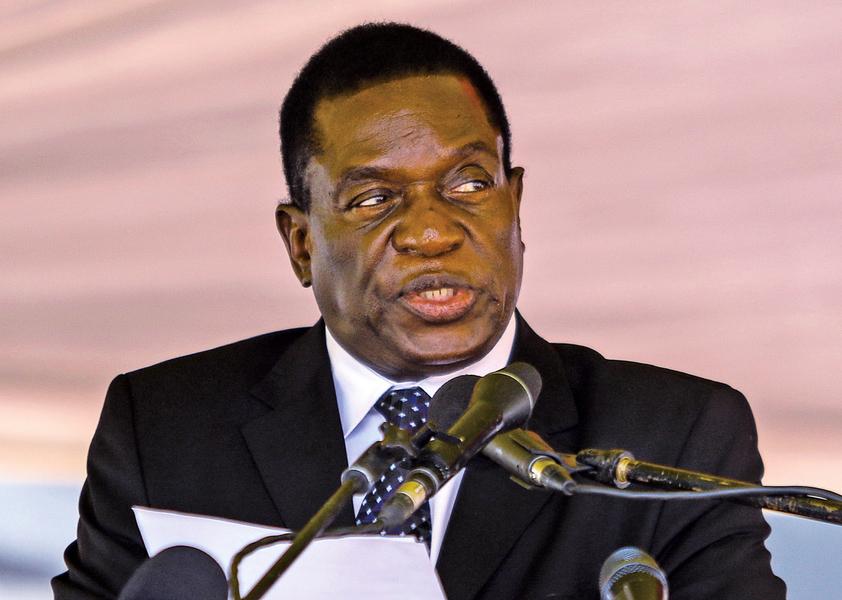 「鱷魚」取代萬年總統 津巴布韋政變前途未卜