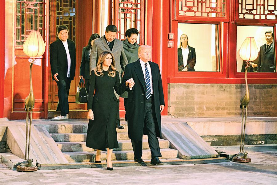 特朗普遊故宮  到訪紫禁城何處?