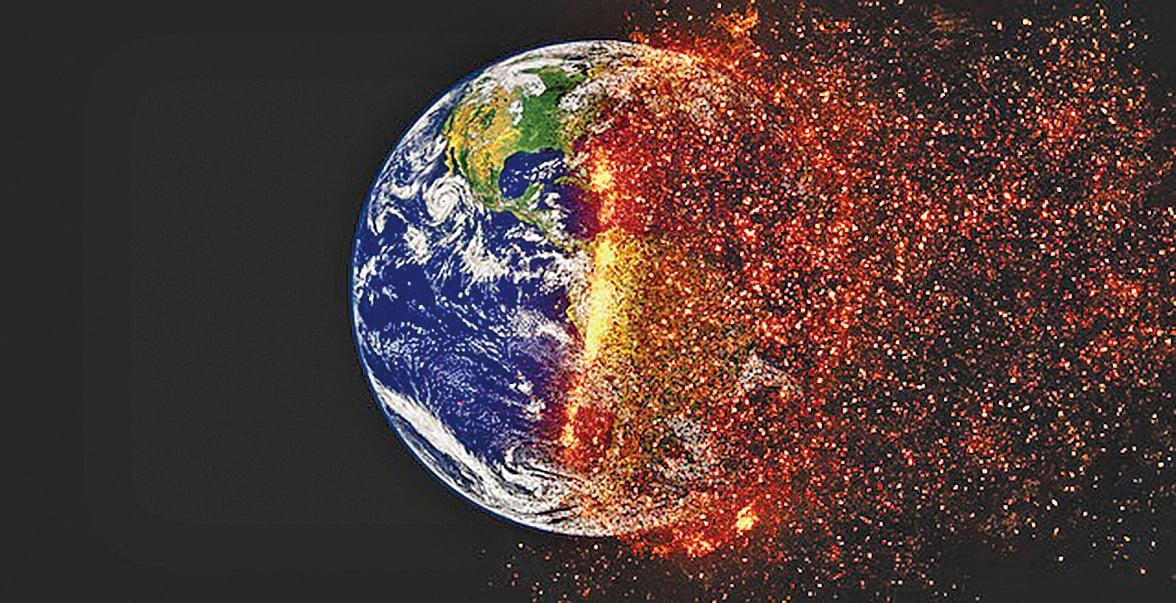 全球184個國家共1.5萬名科學家11月13日發表第二版聯合聲明,指出地球因為人類行為正在走向徹底崩潰,呼籲人類應該馬上採取行動。(pixabay)