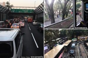 上水多個路段交通異常擠塞 運輸署籲忍讓或轉乘鐵路