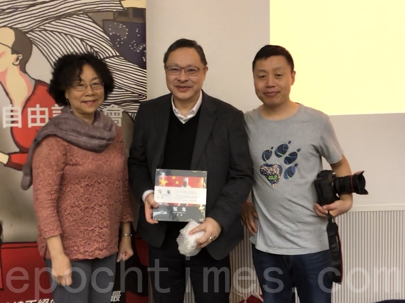 香港大學教授戴耀庭。(梁珍/大紀元)