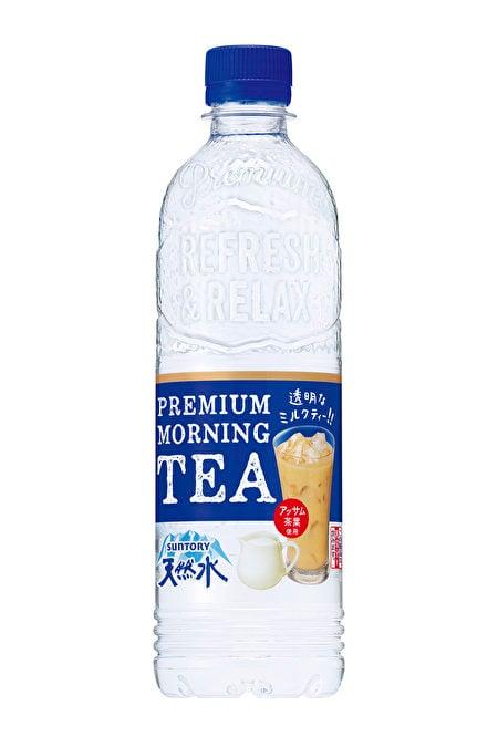 這是三得利公司新推出的「優質早晨奶茶」。(Suntory網站)