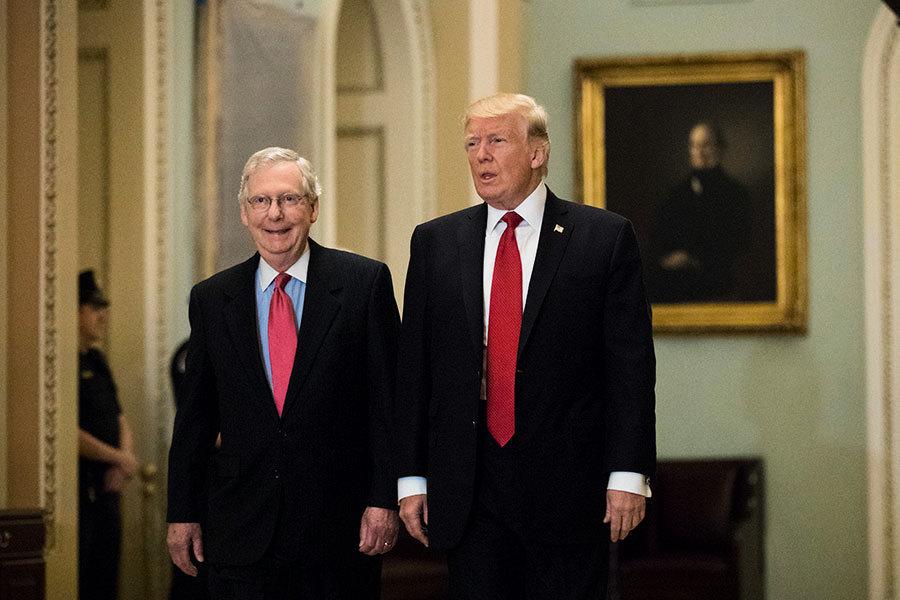 感恩節後特朗普推稅改 下周會見共和黨參議員