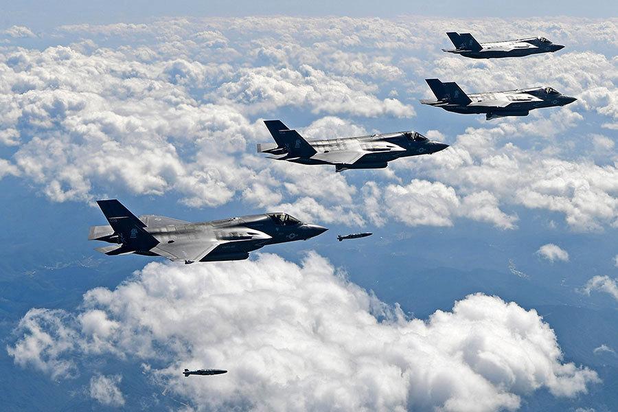 北韓的噩夢 F-35隱形戰機參加美韓下月軍演