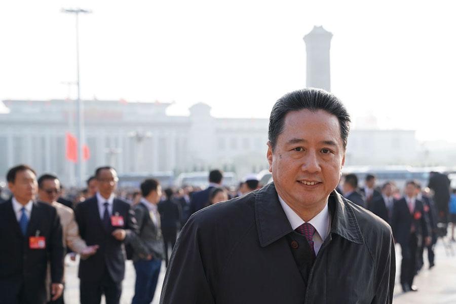 曾連任兩屆中共全國人大代表的李小鵬,本次「落選」。(Lintao Zhang/Getty Images)