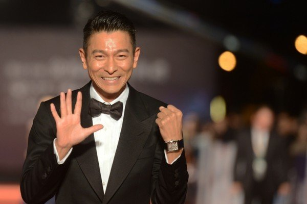 劉德華出席2013年第50屆金馬獎頒獎禮資料照。(SAM YEH/AFP/Getty Images)