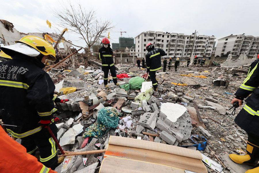 寧波大爆炸震驚全國 現場片段曝光