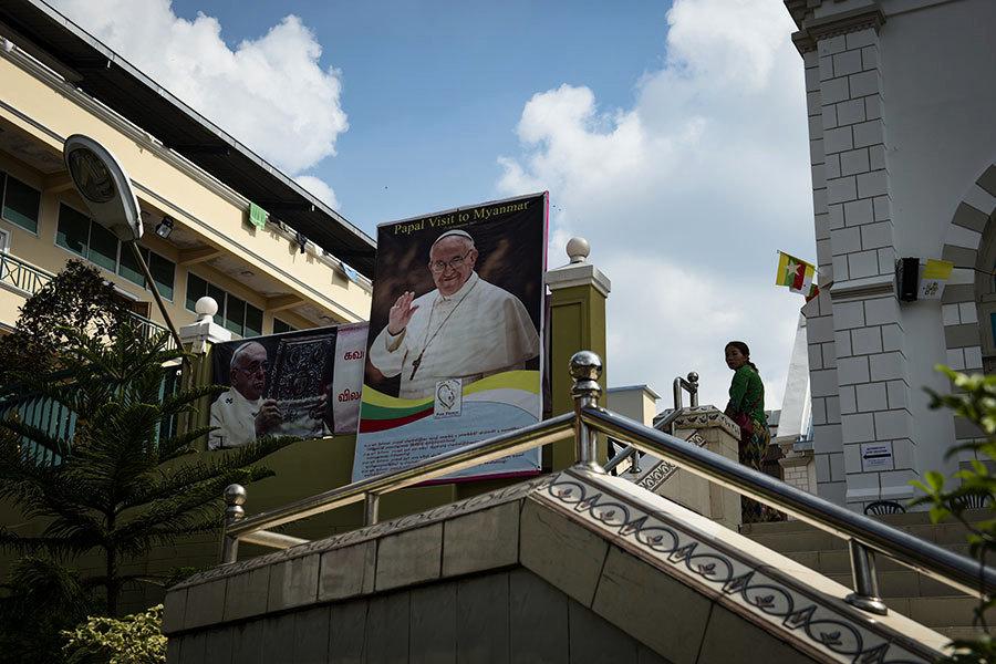 教宗來訪 緬甸主教:避免用羅興亞一詞