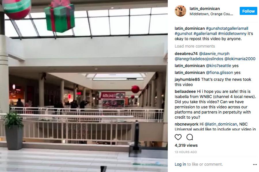 紐約上州購物商場驚傳槍響 兩人受傷