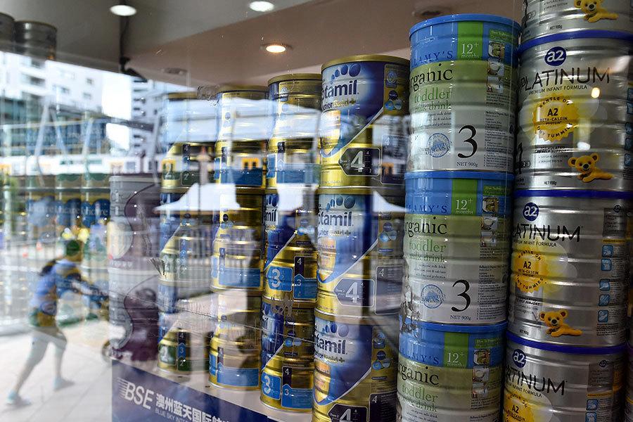 外媒:墨爾本代購商非法出口嬰兒奶粉至中國