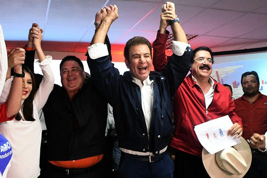 洪都拉斯總統選舉初步結果:反對黨意外領先