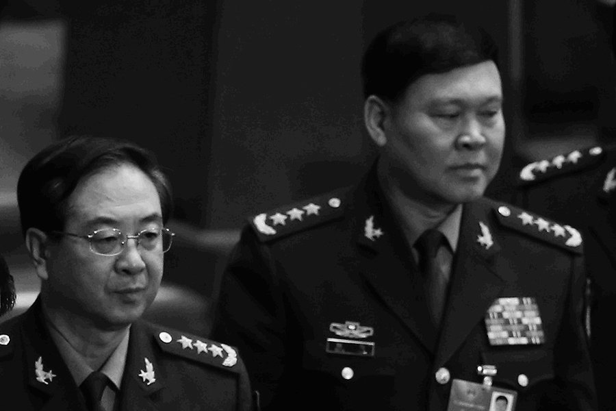 陳思敏:房峰輝、張陽廣州軍區時一驚天黑幕