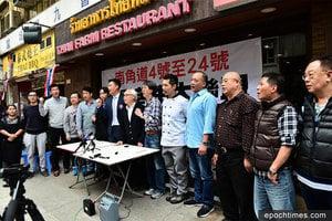 九龍城商戶熄燈抗議沙中線工程影響生意