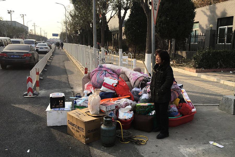 強力驅逐惹民憤 北京「三招」書記講話曝光