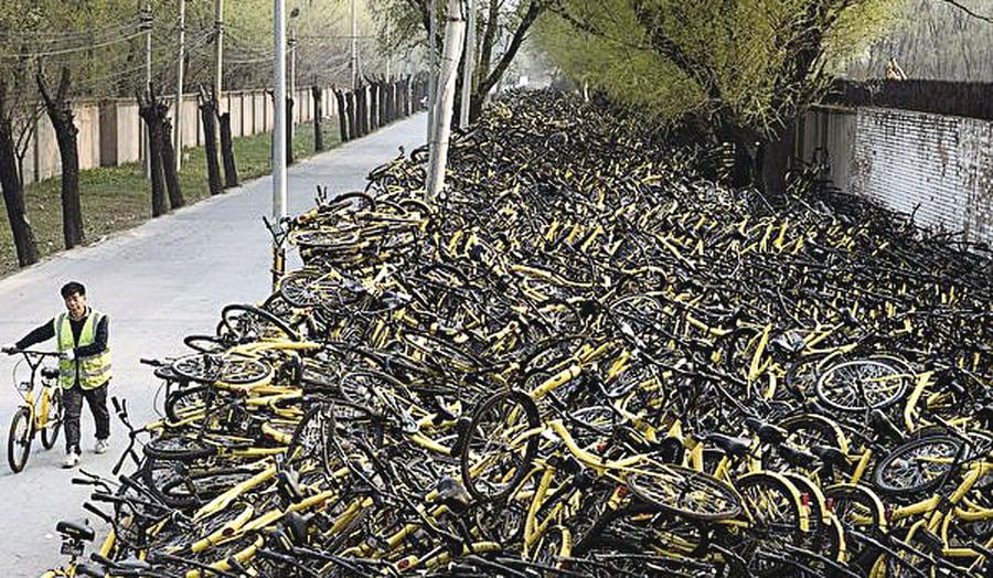 陸共享單車半年倒六家