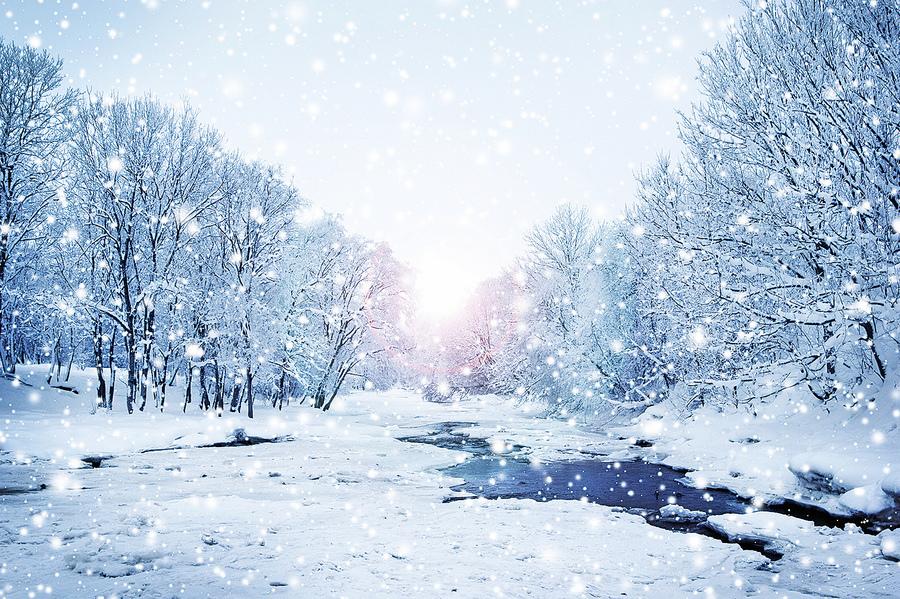 雪境荒村古韻長(中)