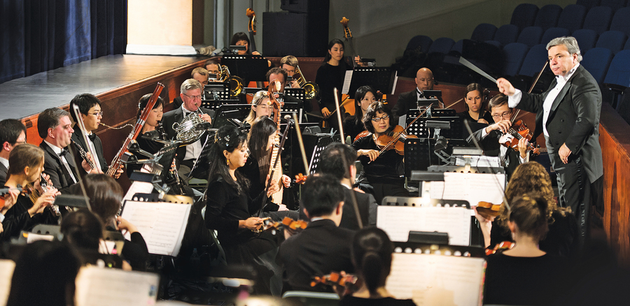 神韻交響樂中的中國元素