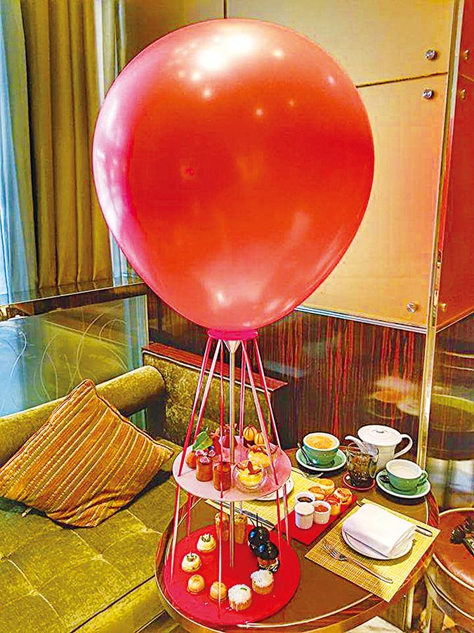 【米芝Gi周記】華麗矜貴Air Floating Afternoon Tea Set
