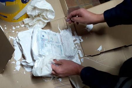 法國海關查獲油漆桶中藏匿的近11萬歐元