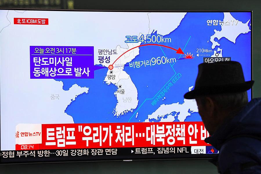 北韓宣佈成功試射新型導彈 射程覆蓋全美