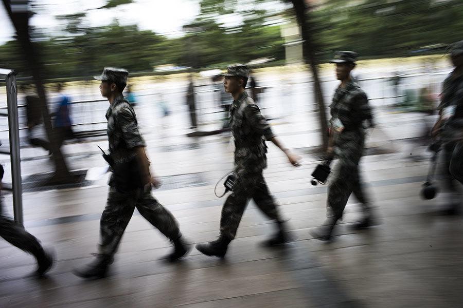傳中共軍委少將被帶走 曾任陳炳德秘書