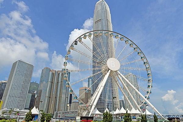圖為香港中環(Bill Cox/Epoch Times)