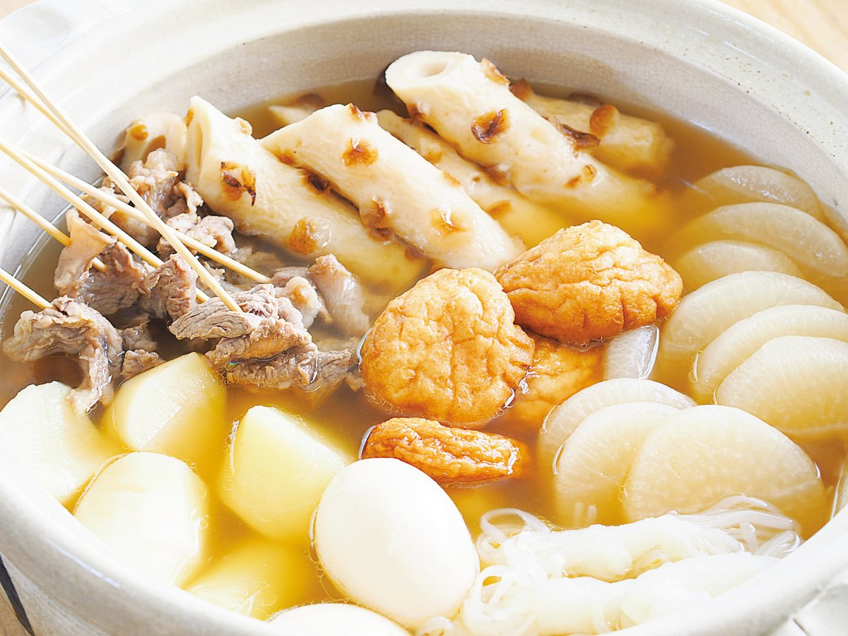 日本人冬天喜歡吃的關東煮。(iStock.com)