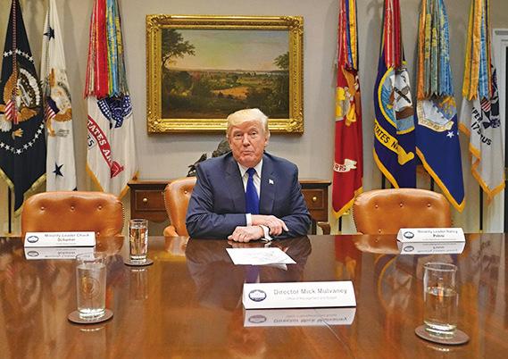 美政府再面臨停擺  特朗普:沒看到解決方案