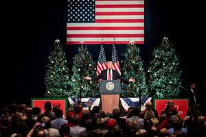 特朗普:贊成稅改就是支持美國優先