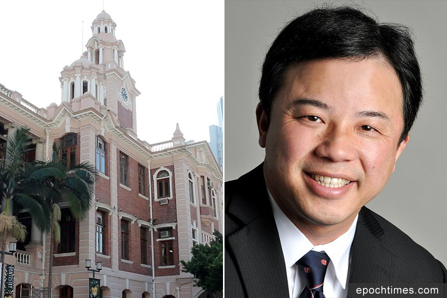 消息稱美籍華裔科學家張翔(右)獲薦任港大校長。(網絡圖片、資料圖片/大紀元合成)