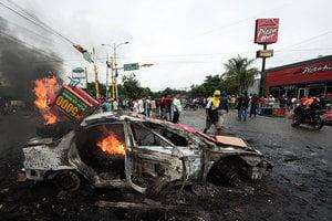 洪都拉斯實施宵禁 民眾抗議大選造票引暴動