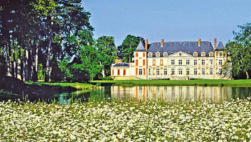 庫森城堡外觀。(domaine-de-courson.fr)
