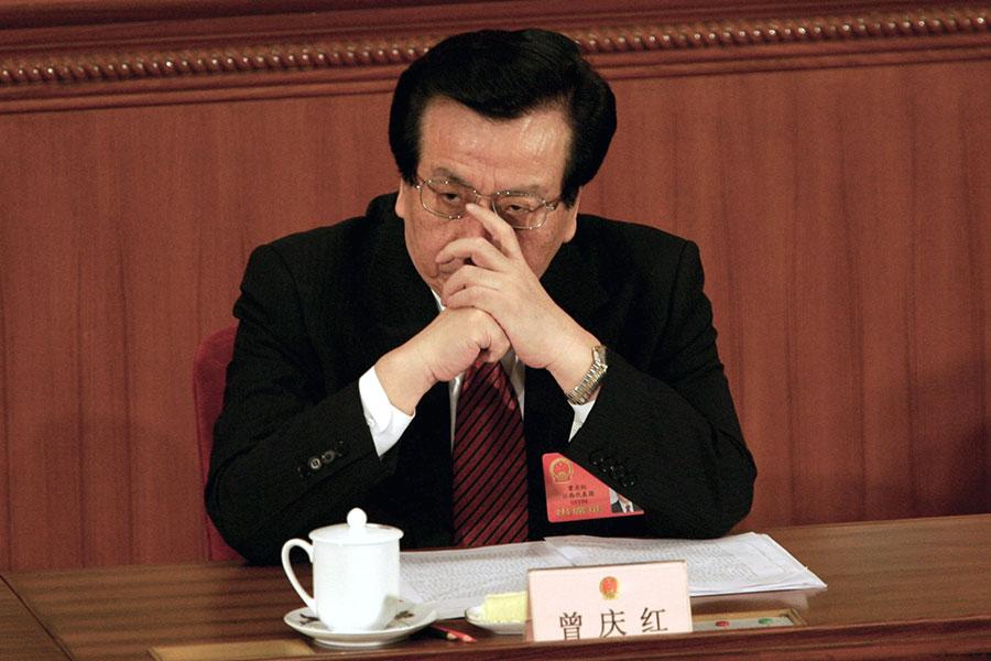 曾慶紅被指是中共黨內最大的野心家。(Cancan Chu/Getty Images)
