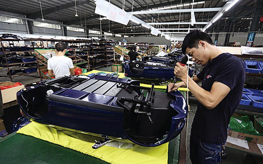 中國11月製造業 PMI降至五個月新低