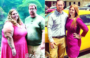 靚麗轉身新人攜手減肥 1年半