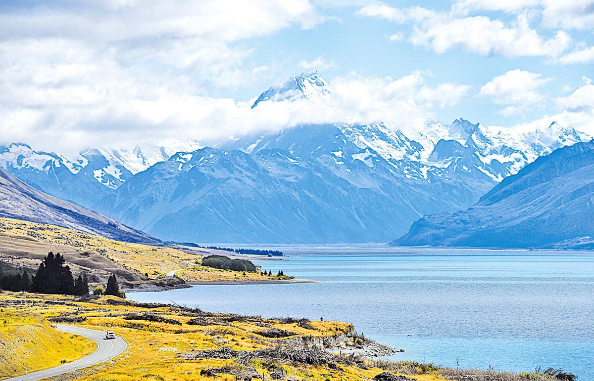 紐西蘭風光壯麗。
