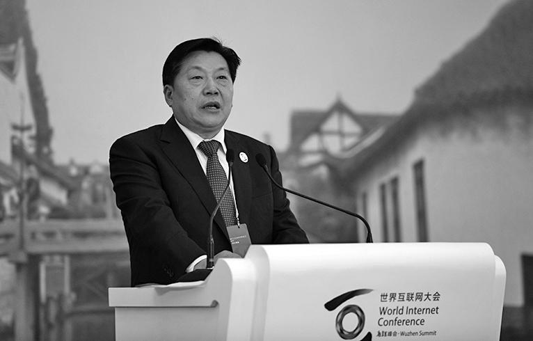 11月21日晚,中共前網信辦主任、中宣部副部長魯煒被審查。(Getty Images)