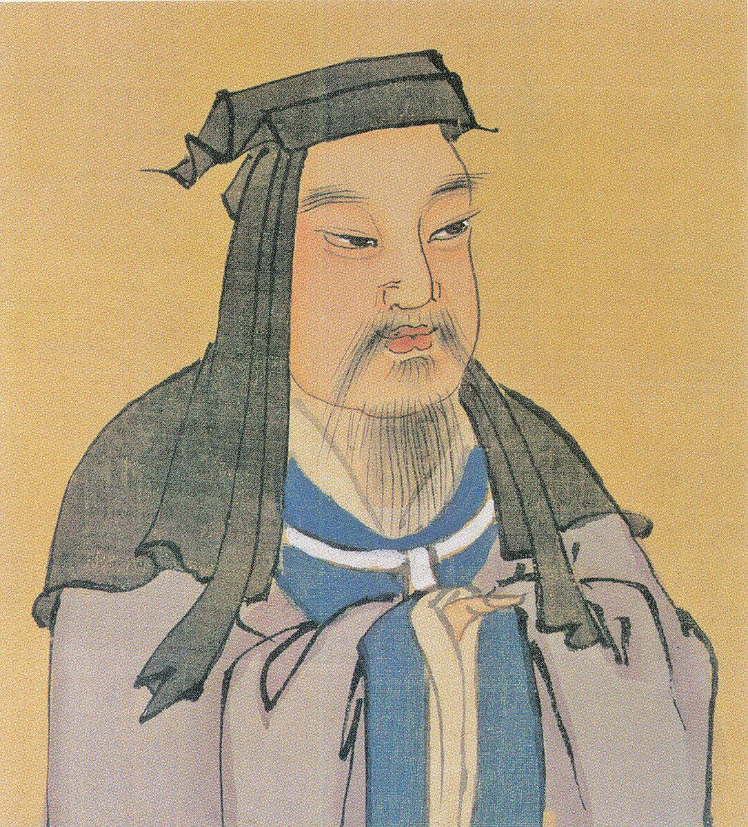 魏太祖曹操彩像,明人繪(公有領域)
