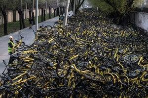 中國共享單車「生產第一鎮」百家企業倒閉