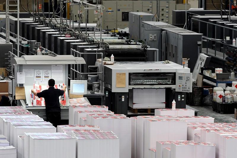 美對中國銅版紙課徵30.82%到135.8%的反傾銷關稅。(Getty Images)