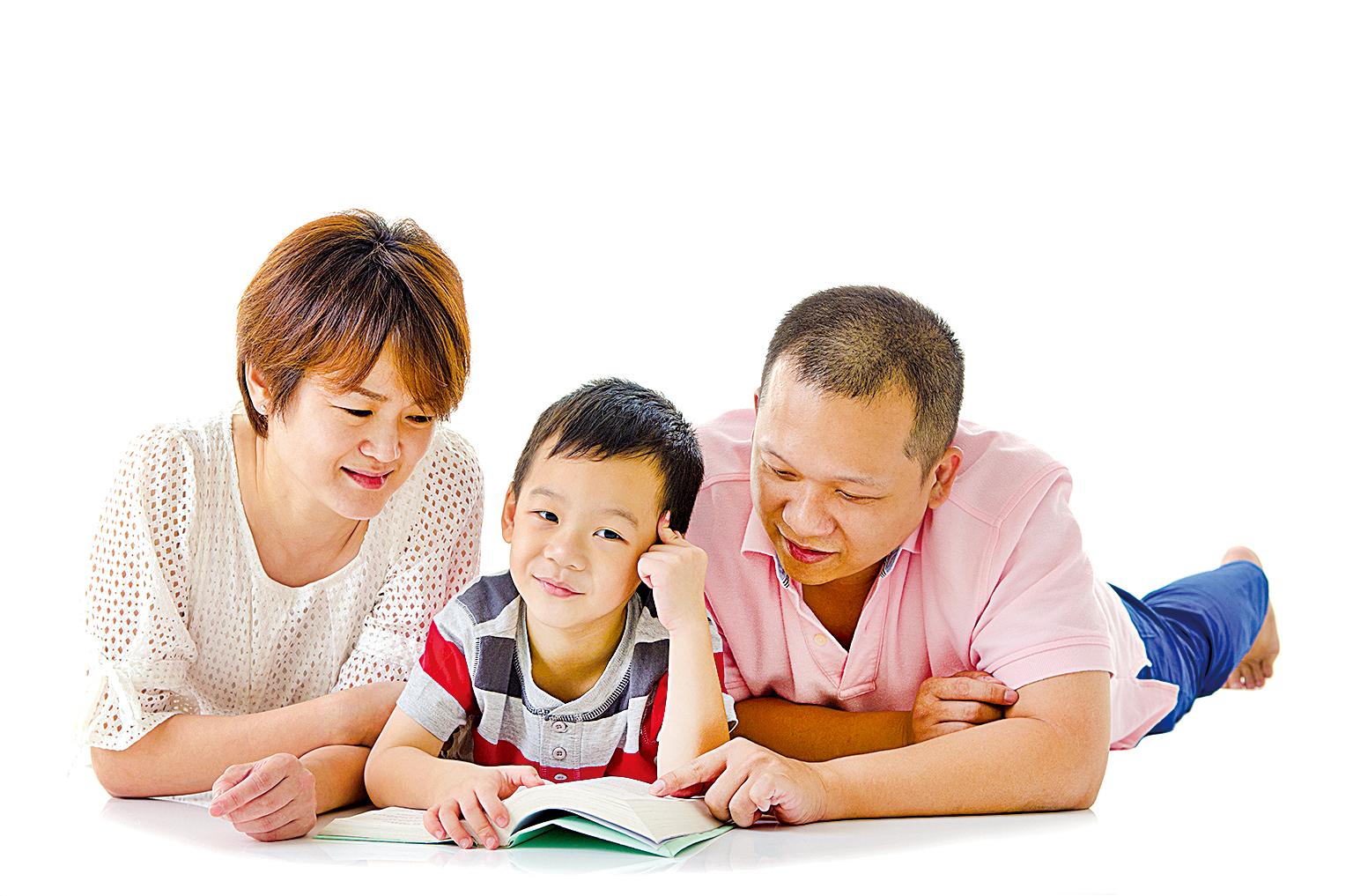 孩子需要的是父母的陪伴和鼓勵。(fotolia)