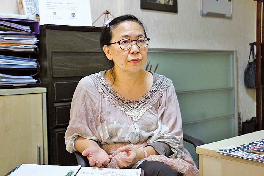 香港心理治療研究學會會長、資深心理治療師蘇淑貞。(陳仲明/大紀元)