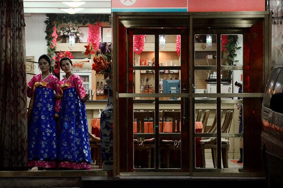 日媒:遼寧丹東的北韓餐廳現關閉潮