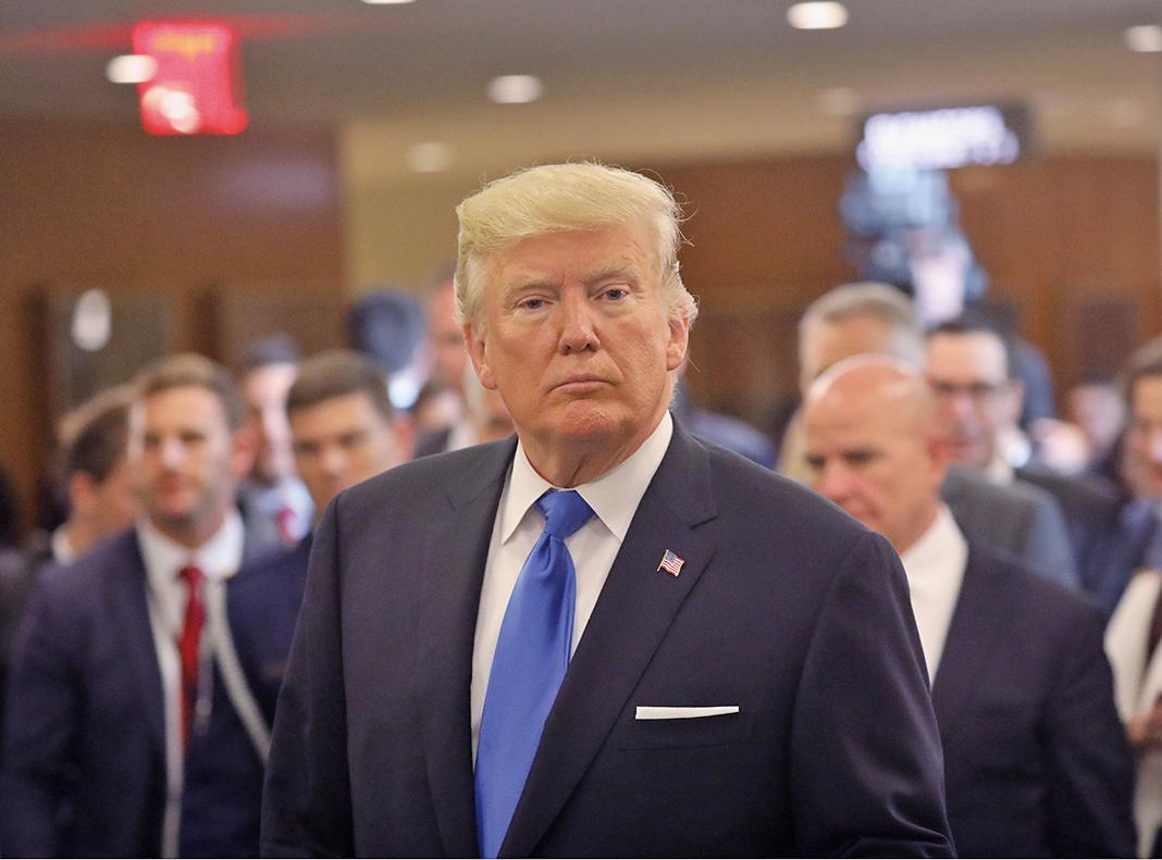 美國最高法院判決徹底執行特朗普的旅行禁令。這是白宮在這一問題上取得的巨大勝利。(Getty Images)