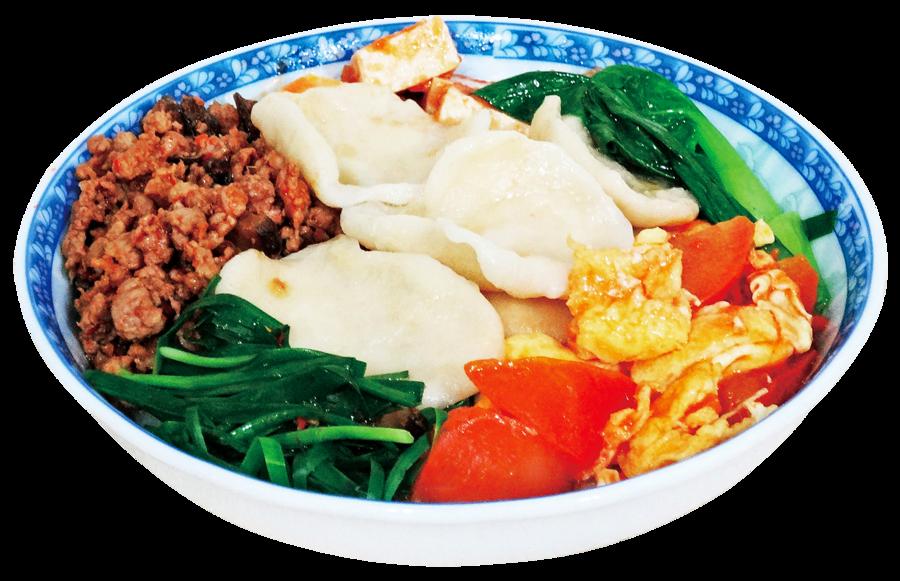 【美食典故】陝西關中特色麵食翠峰飥飥