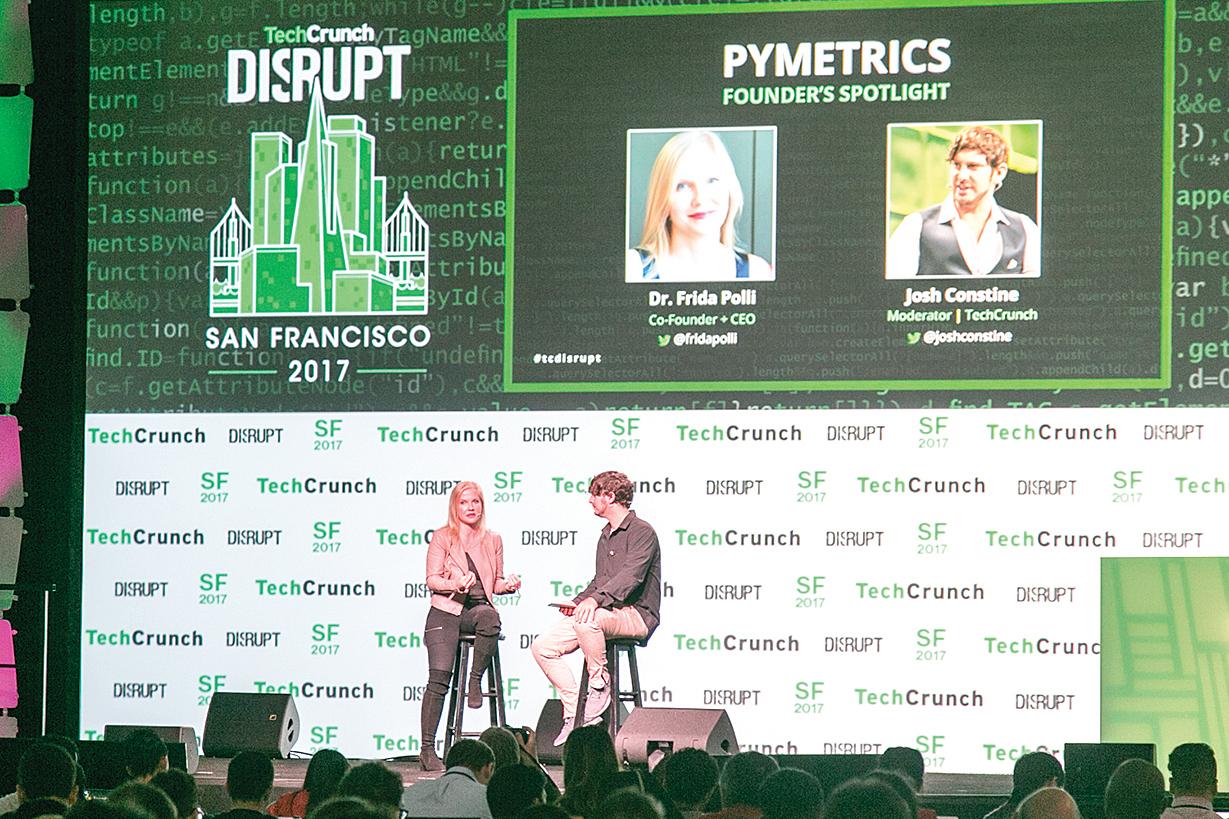 在三藩市舉辦的TechCrunch Disrupt已儼然成為新創圈的「奧斯卡」盛會。(曹景哲/大紀元)