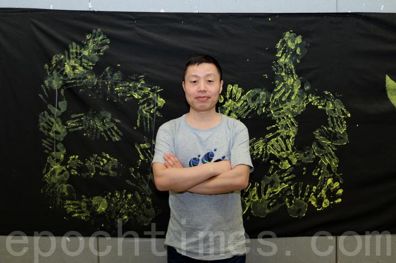 知名北京作家、紀錄片製作人杜斌。(宋碧龍/大紀元)