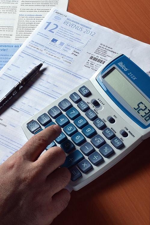 特朗普公佈「史上最大減幅」的稅改方案,營所稅由現行最高的35%降低至20%。圖為示意圖。(AFP)