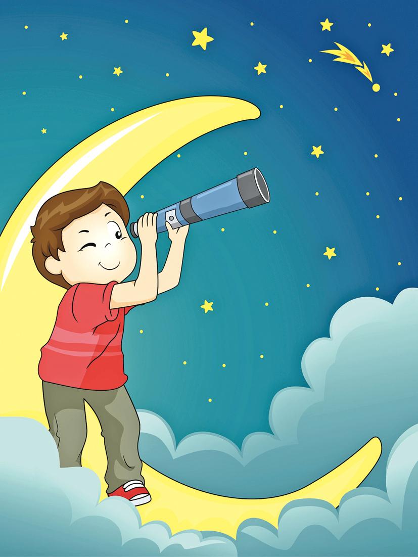 童詩 月亮的聯想